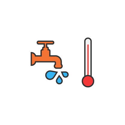 heating and/or hot water
